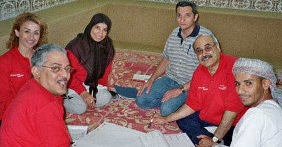 Middle East – Team Building Retreats
